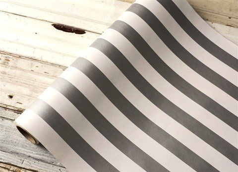 Paper Silver Stripes Runner