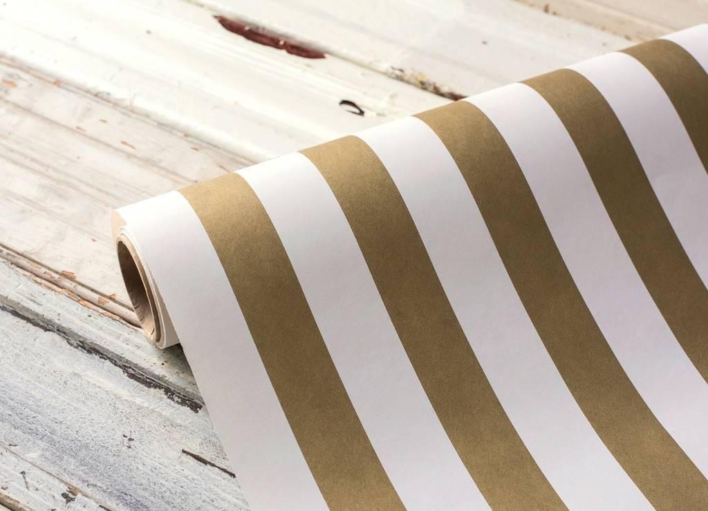 Paper Gold Stripes Runner