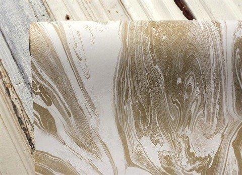 Paper Gold Marbled Runner