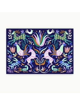 Napperons Papier Otomi