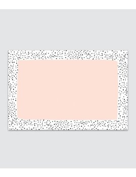 Speckled Rose Placemat Pad