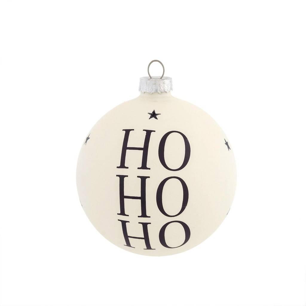 Indaba Hohoho Black Ornament