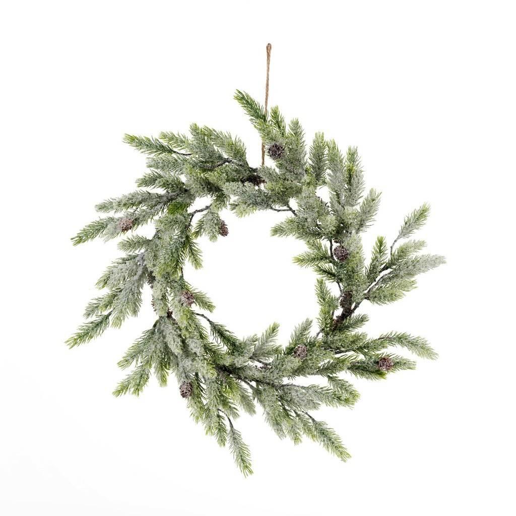 Indaba Icy Pine Wreath