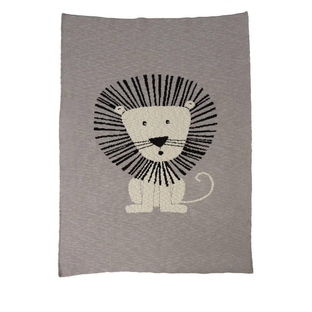 Indaba Lion Baby Blanket