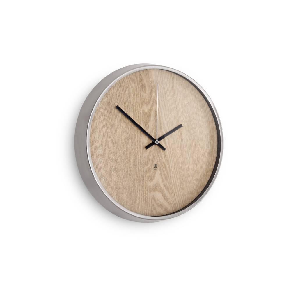 Umbra Madera Clock