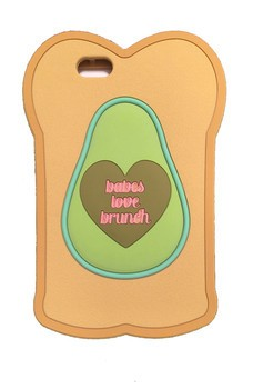 Avocado on bread Iphone 6 case