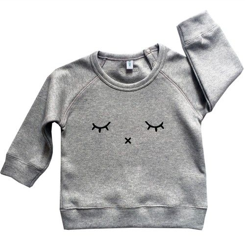 Organic Zoo Sleepy Grey Sweater