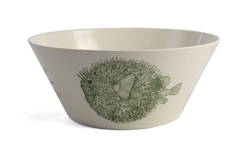 Green Vineyard Small Bowl