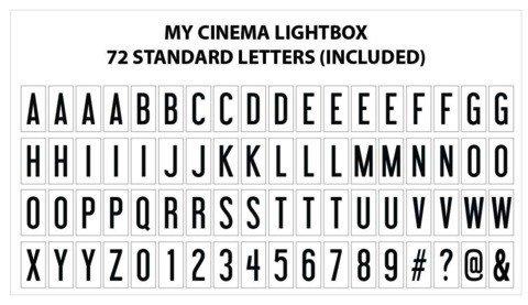 Cinema Lightbox Boite Cinéma - Format Original