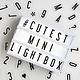 Cinema Lightbox Mini Cinema Lightbox