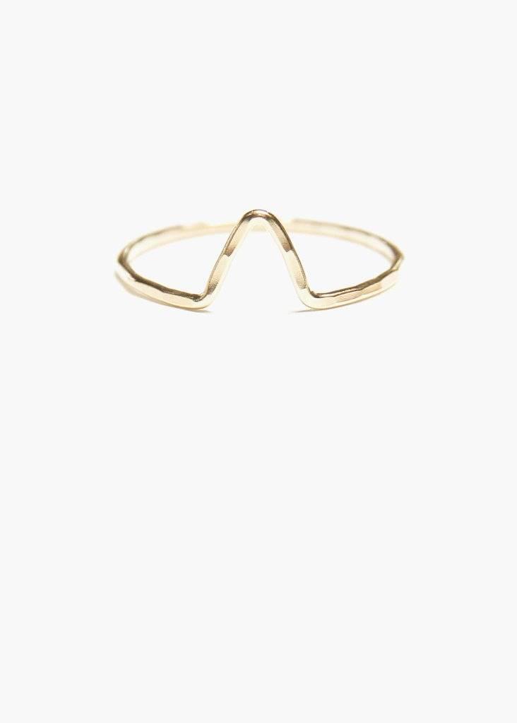 Hart and Stone Arrow Ring