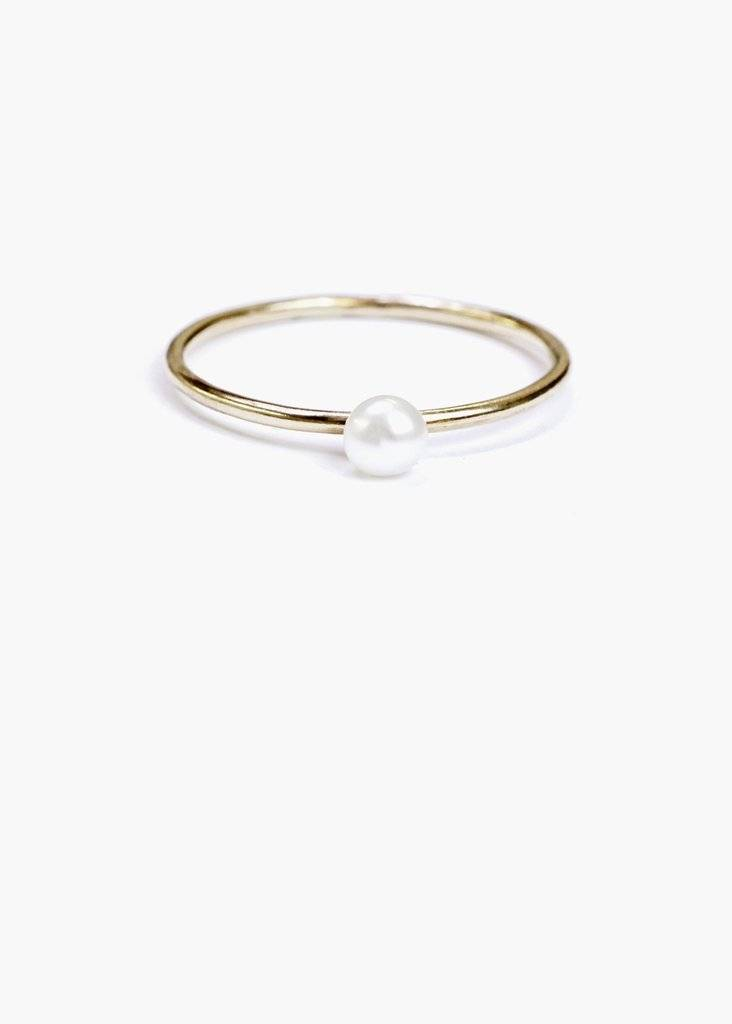 Hart and Stone Pearl Ring