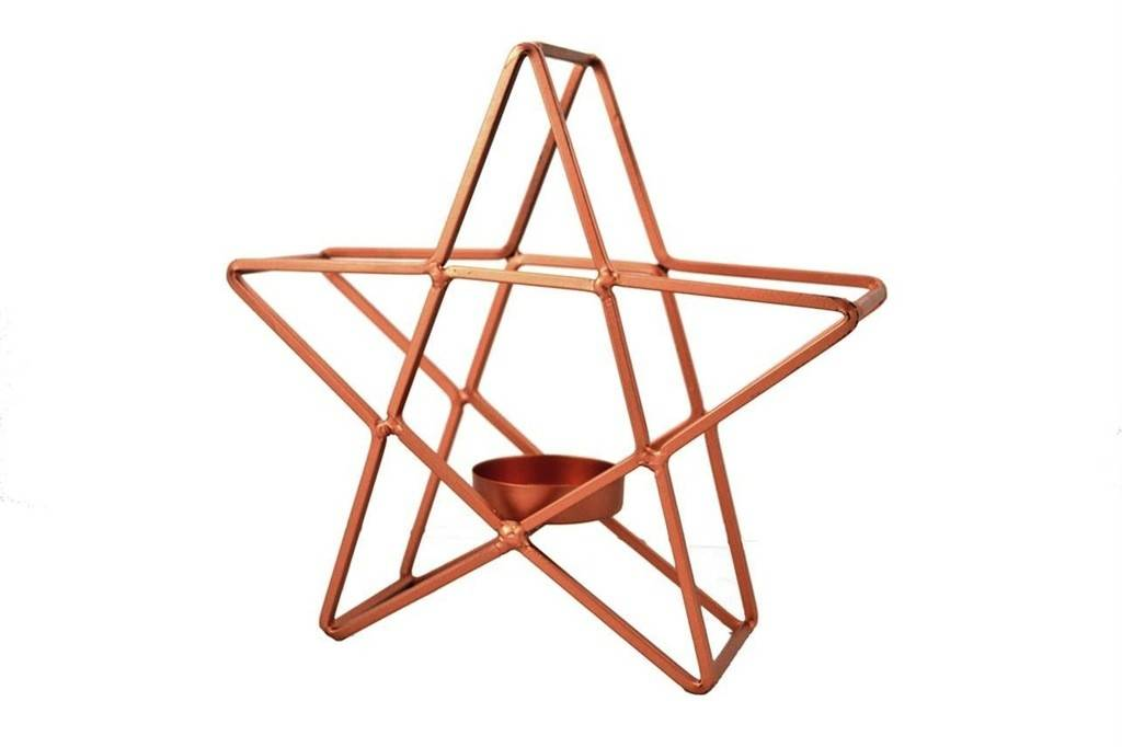 Nostalgia Star T-light Holder