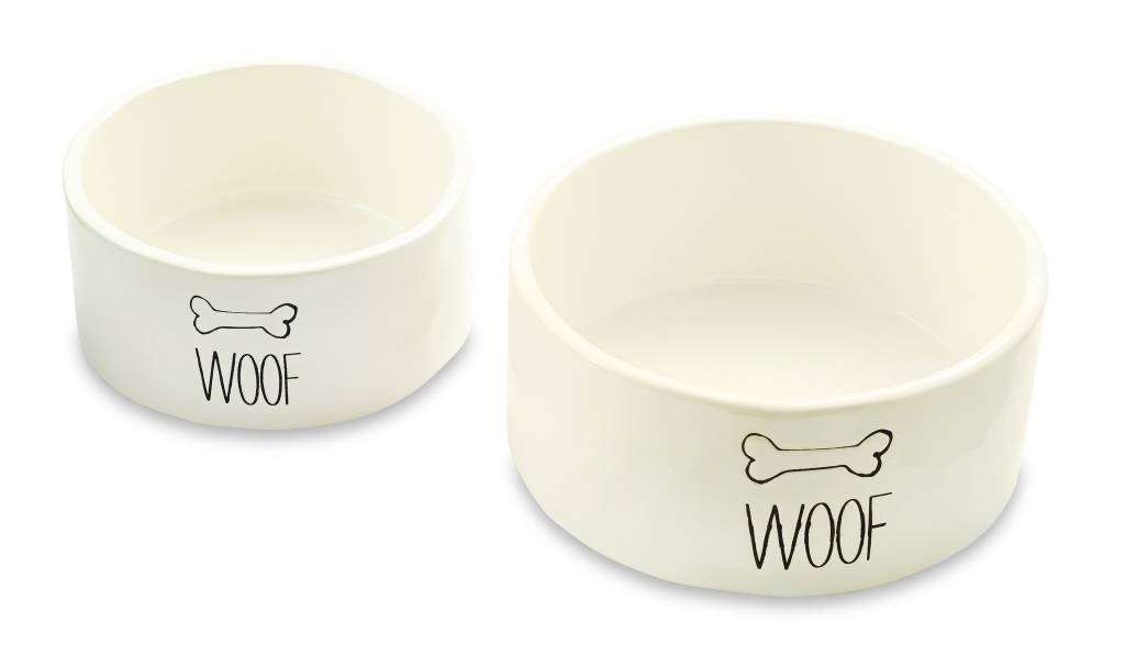 Mud Pie Woof Small Bowl