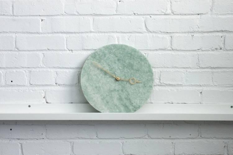 Horloge Marbre Turquoise