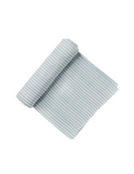 Pehr Design Blue Stripe swaddle