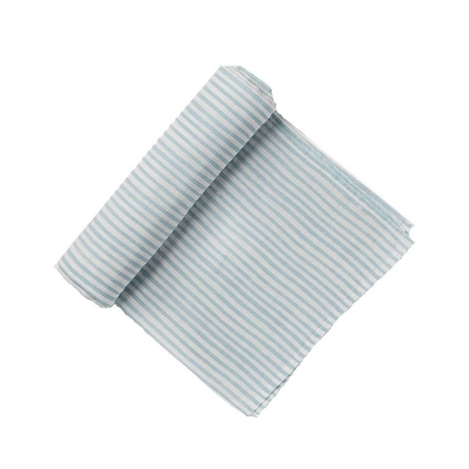 Pehr Design Blue Stripe swaddle