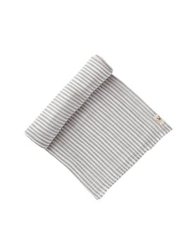 Pehr Design Grey Stripe Swaddle