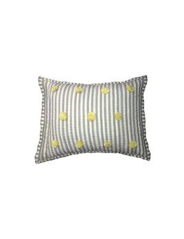 Pehr Design Yellow Pom pom Pillow