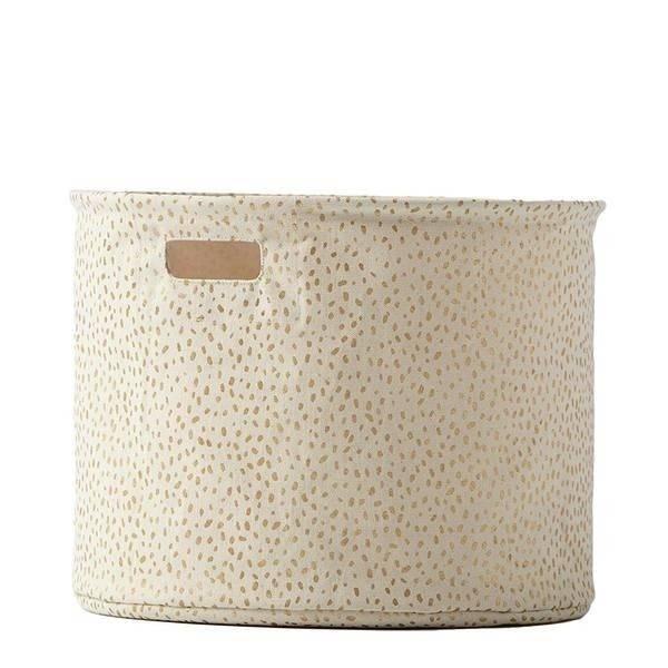 Pehr Design Medium Gold Spotted Drum