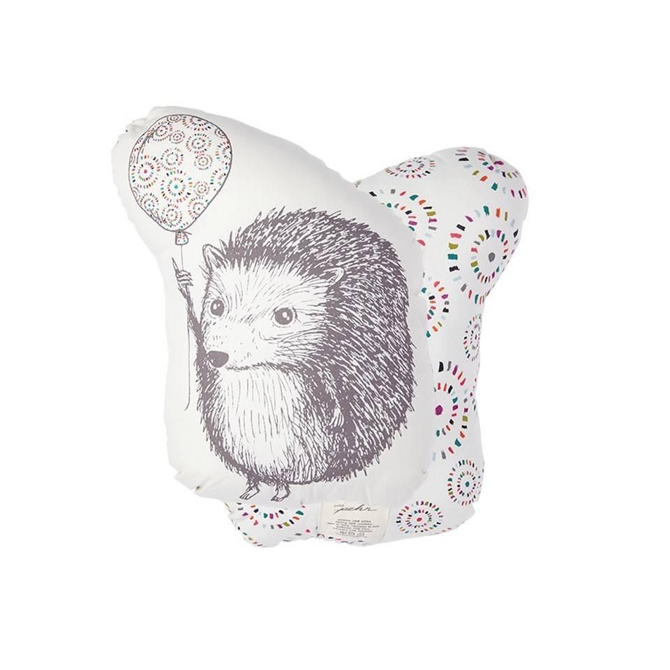 Pehr Design Little hedgehog and balloon pillow