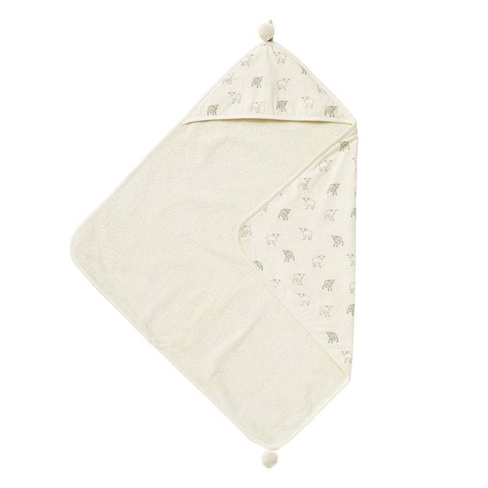 Pehr Design Lamb Hooded baby towel