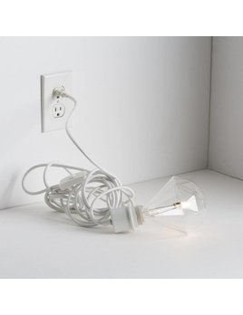White Plog-It Cable