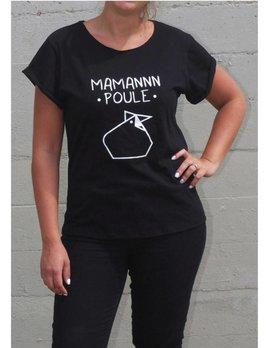 Ptit Mec Ptite Nana T-Shirt Classique Maman Poule