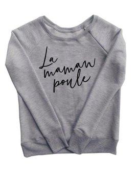 Ptit Mec Ptite Nana Maman Poule Minimalist Sweater