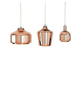 Shiraleah Small Bruno Copper Ceiling Pendant