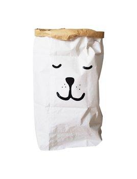 Tellkiddo Sleeping bear paper bag