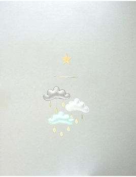The Butter Flying Clouds and small star mobile Arctic
