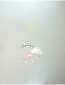 The Butter Flying 3 cloud and small star mobile Suri