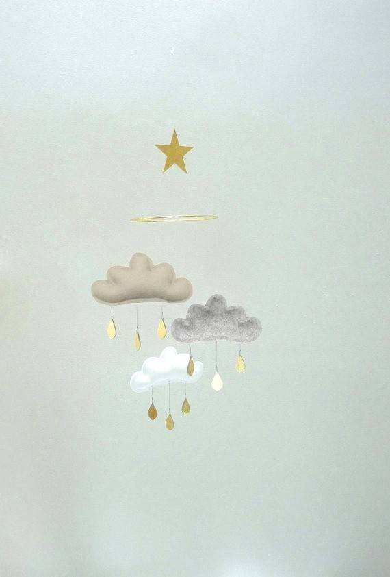 The Butter Flying Clouds and small star mobile Nour