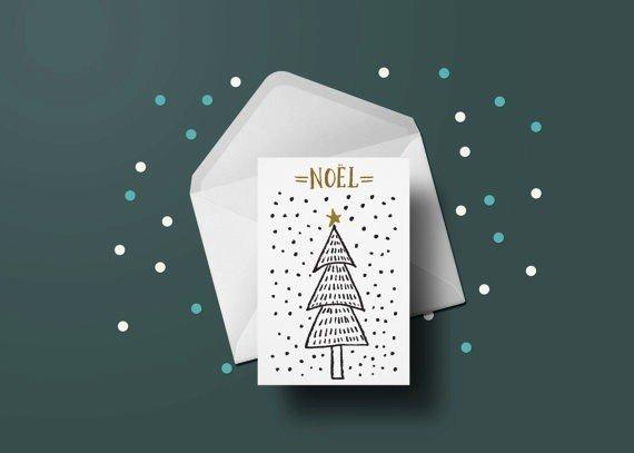 Toffie Carte Sapin de Noel