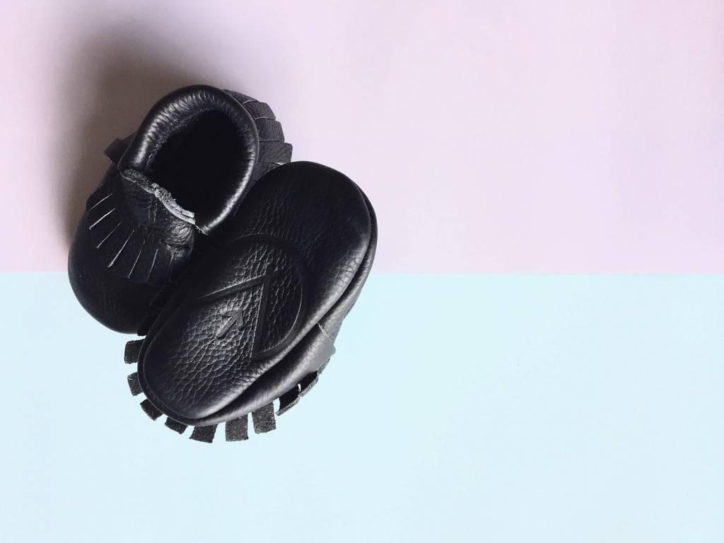 Wylo&Co mocassin cuir noir