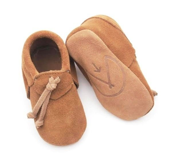 Wylo&Co mocassin suede taupe