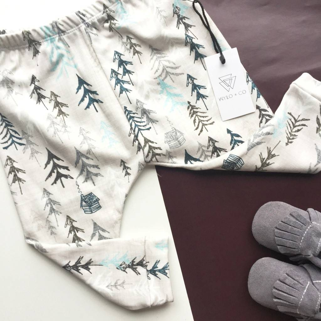 Wylo&Co Legging Arbres Sauvages