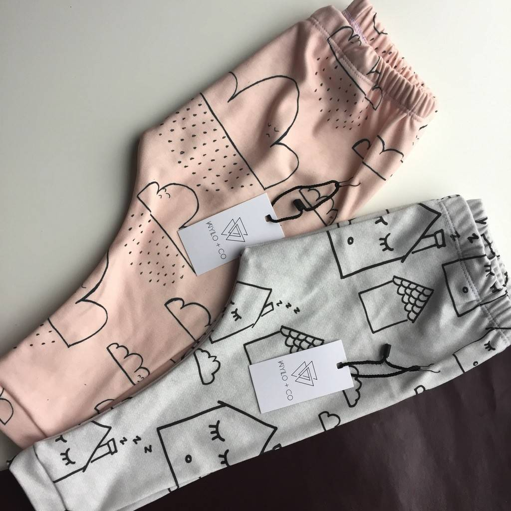 Wylo&Co Pink Clouds Legging