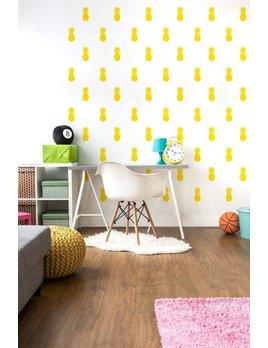 A D ZIF Pineapple Express Wall Sticker
