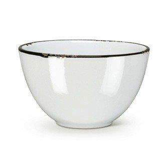 Abbott Bowl Enamel White