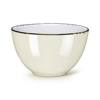 Abbott Bowl Enamel Ivory