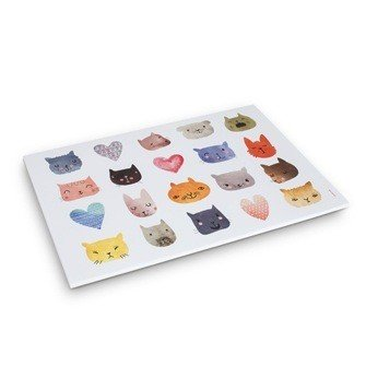 Abbott Funny Cats Paper Placemats