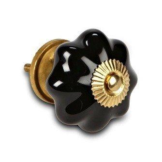 Abbott Poignée Citrouille Noire