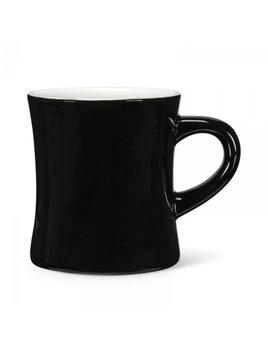 Abbott Diner Mug Black