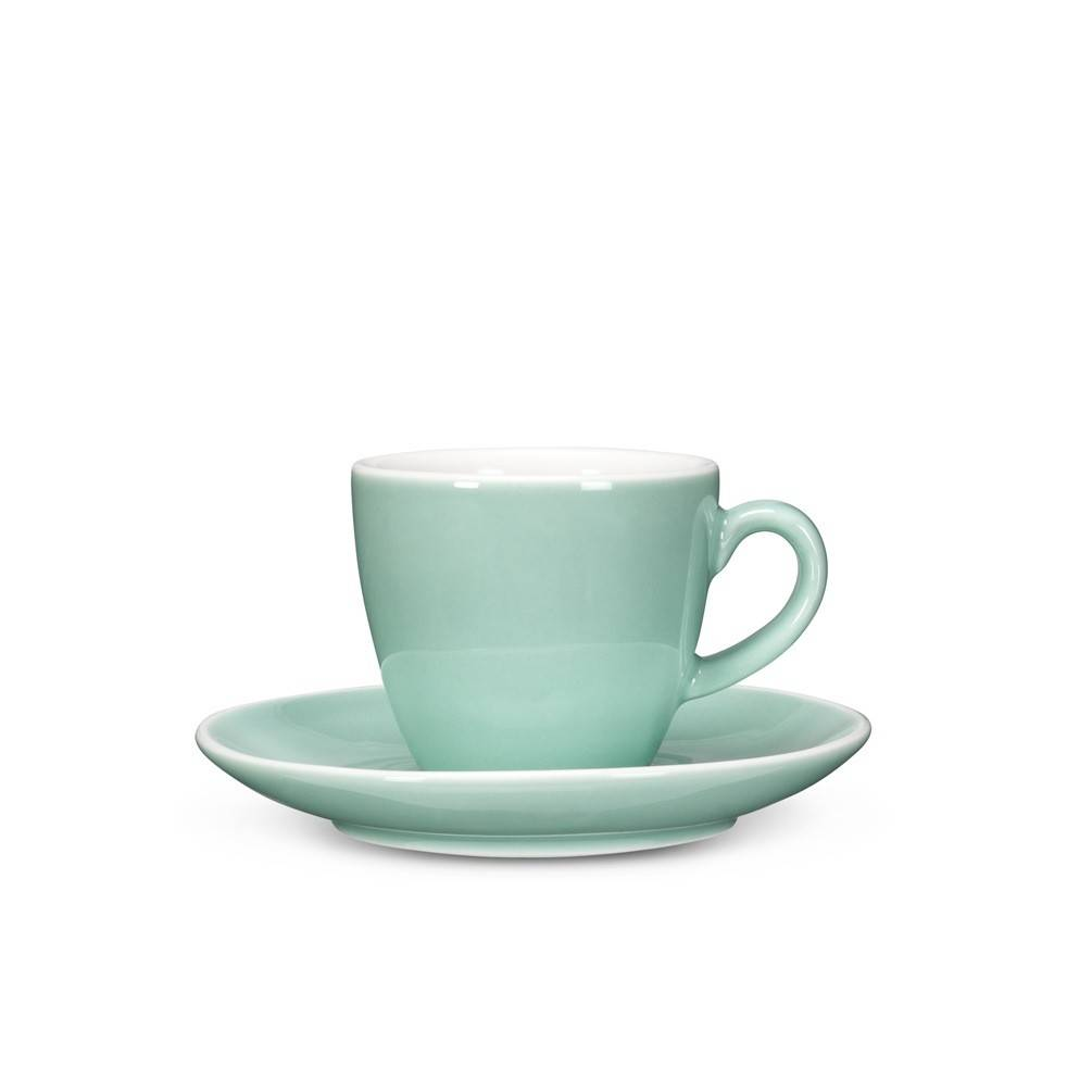 Abbott Diner Espresso Cup and Saucer Mint