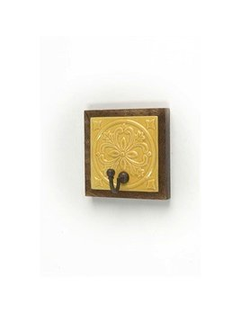 ADV Hook Wood with Tile Mustard