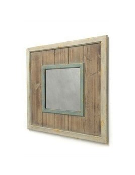 ADV Rustic Wood Mirror