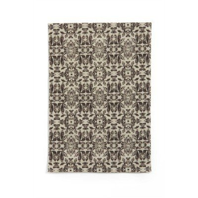 ADV Brown blockprint placemats