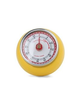 Kikkerland Magnetic kitchen Timer Yellow